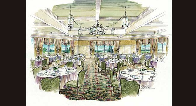 Hershey Country Club Ballroom Rendering