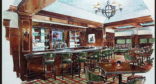 Hershey Country Club Hogan Grille Rendering
