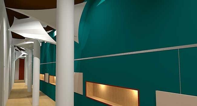 Hershey Entertainment & Resorts Corridor to Boardroom