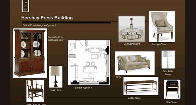 Hershey Entertainment & Resorts Office Furnishings #1