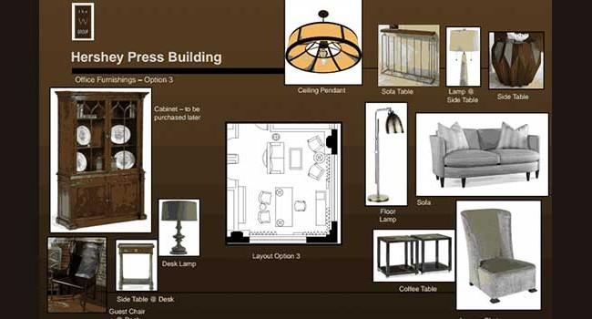 Hershey Entertainment & Resorts Office Furnishings 3