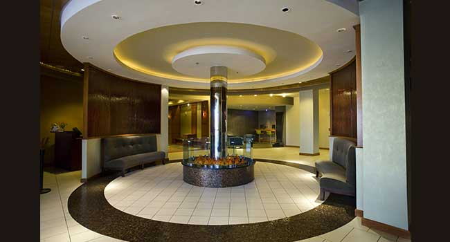 Doubletree: Fireplace