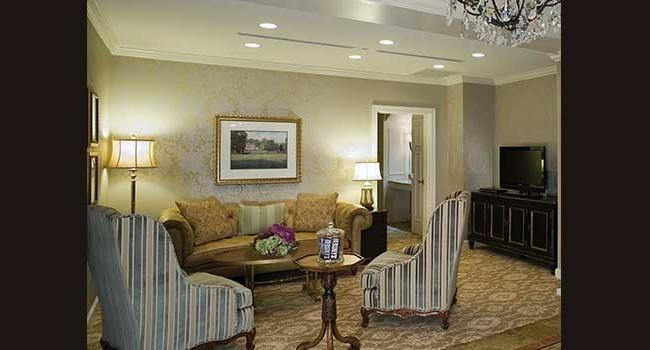 The Hotel Hershey Milton Hershey Suite Sitting Room