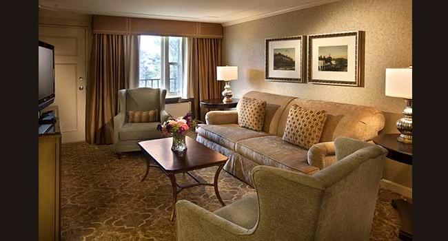 The Hotel Hershey Guestroom Parlor