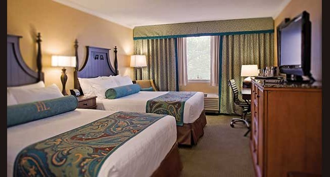 Hershey Lodge: Double Queen Guestroom